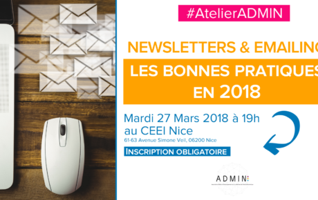 atelieradmin emailing newsletter